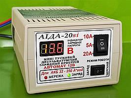Мини пускозарядное автоматическое устройство АІДА-20sі для кислотных гелевых AGM аккумуляторов АКБ