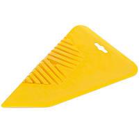 Шпатель для обоев 280 мм «КРЫЛО» желтый, фото 1