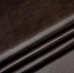 Кожзаменитель для мебели Лавина темно-коричневого цвета
