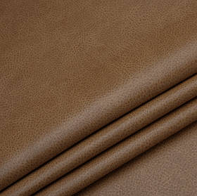 Кожзаменитель для мебели Лавина светло-коричневого цвета