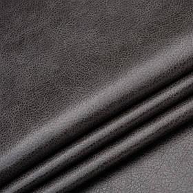 Кожзаменитель для мебели Лавина темно-серого цвета
