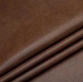 Кожзаменитель для мебели Лавина коричневого цвета