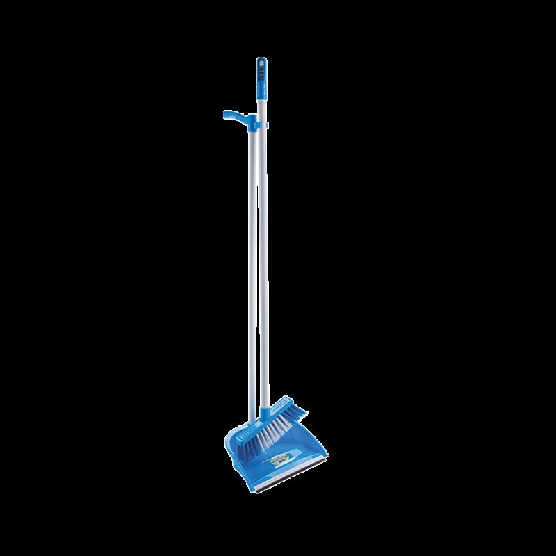 Комплект для прибирання Совок + Щітка Dust Set AF201 СИНІЙ