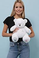 Плюшевый Мишка Тедди высота 55 см. цвет белый, фото 1