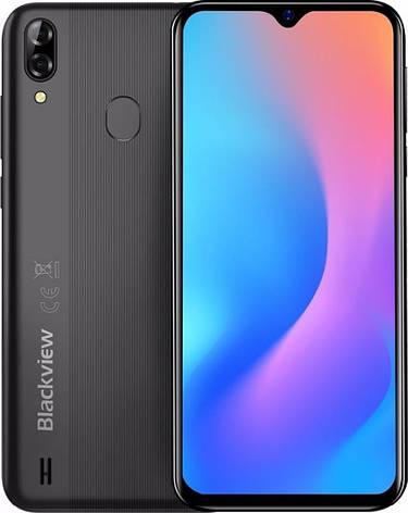 "Смартфон Blackview A60 Pro 3/16GB Dual Sim Interstellar Black (6931548305767); 6.088"" (1280х600) IPS / MediaTek Helio A22 / ОЗУ 3 ГБ / 16 ГБ, фото 2"