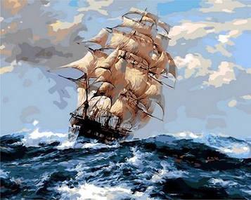 Картина по номерам 40×50 см. Mariposa На всех парусах (Q 1069)