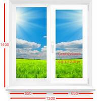 Окно Kommerling энергосберегающее (фурнитура Roto)