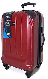 S-19617 Чемодан Sharper красный, поликарбонат