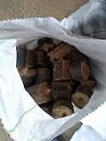 Топливные брикеты Нестро, дубовые в мешках., фото 2
