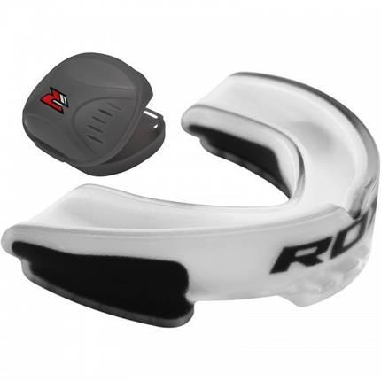 Капа боксерская RDX GEL 3D Elite White, фото 2