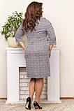 Шикарна жіноча трикотажна сукня в розмірах:50,52,54,56., фото 9