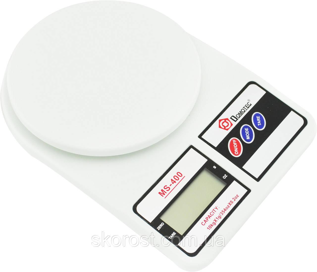Весы 10кг Domotec MS 400