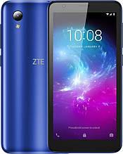 """Смартфон ZTE Blade L8 Dual Sim Blue; 5"""" (960х480) IPS / Unisoc SC9863A / RAM 1 ГБ / 16 ГБ вбудованої + microSD до 128 ГБ / камера 8 Мп + 5 Мп / 3G"""