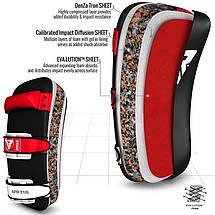 Пады для тайского бокса RDX Red (пара), фото 2