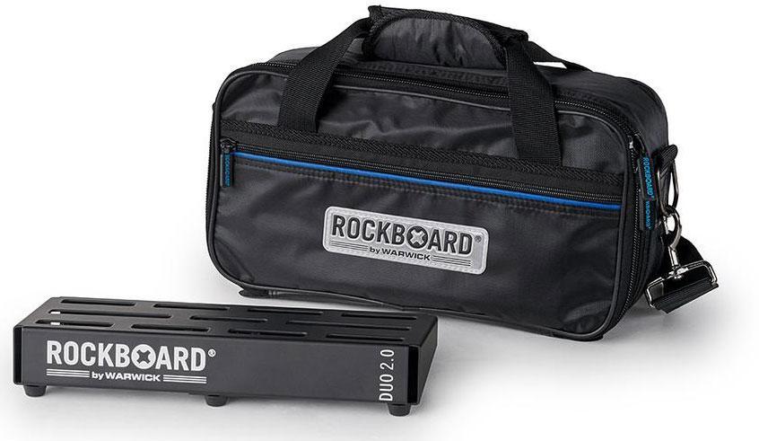 Педалборд для гітарних педалей ефектів ROCKBOARD DUO 2.0 B