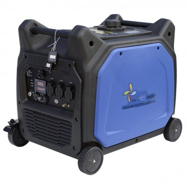 Генератор-инвертор Weekender X6500ie с электрозапуском и пультом д/у