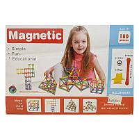 Магнитный конструктор 180 деталей