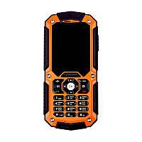 "Мобильный телефон Sigma mobile X-treme IT67M Single Sim Black-Orange (4827798828328); 2.2"" (220x176) TN / клавиатурный моноблок / MediaTek МТК6260A /"