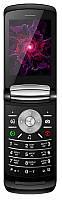 """Мобильный телефон Nomi i283 Dual Sim Black; 2.8"""" (320x240) TN / раскладной / MediaTek MT6261D / ОЗУ 32 МБ / 32 МБ встроенной + microSD до 32 ГБ /"""