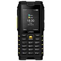 "Мобильный телефон Sigma mobile X-treme DZ68 Dual Sim Black/Yellow (4827798466322); 2.4"" (320x240) TN / клавиатурный моноблок / MediaTek MTK6261D /"