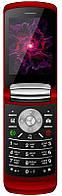 """Мобильный телефон Nomi i283 Dual Sim Red; 2.8"""" (320x240) TN / раскладной / MediaTek MT6261D / ОЗУ 32 МБ / 32 МБ встроенной + microSD до 32 ГБ / камера"""