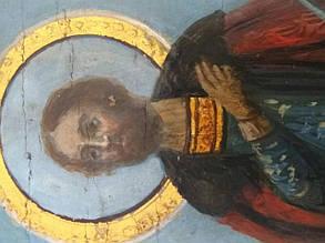 Ікона св. князь Олег 19 століття, фото 2