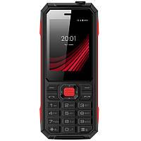"""Мобильный телефон Ergo F248 Defender Dual Sim Black; 2.4"""" (320х240) TN / клавиатурный моноблок / MediaTek MT6261D / ОЗУ 32 МБ / 32 МБ встроенной +"""