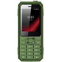 """Мобильный телефон Ergo F248 Defender Dual Sim Green; 2.4"""" (320х240) TN / клавиатурный моноблок / MediaTek MT6261D / ОЗУ 32 МБ / 32 МБ встроенной +"""