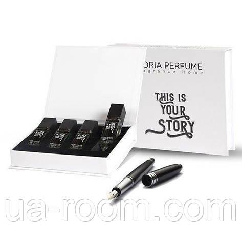 Набор мужских мини-парфюмов Gloria Perfume THİS İS YOUR STORY 4*15 ML(232-237-238-243), фото 2