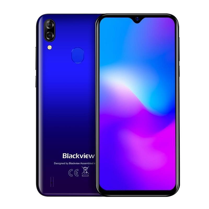 "Смартфон Blackview A60 Pro 3/16GB Dual Sim Blue Gradient (6931548305781); 6.088"" (1280х600) IPS / MediaTek Helio A22 / RAM 3 ГБ / 16 ГБ вбудованої +"