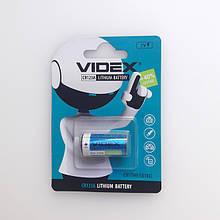 Батарейка Videx CR123