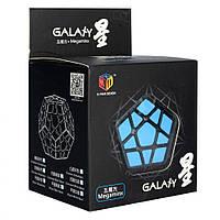 Кубик Рубика QiYi X-Man Megaminx Plane Black-base 8 см
