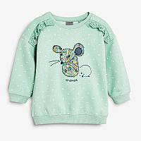 Кофта для девочки Цветочная мышка Little Maven