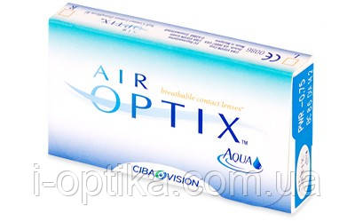 Контактные линзы Air Optix Aqua, фото 2