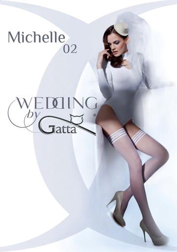 Свадебные чулки Gatta Wedding Michelle 02