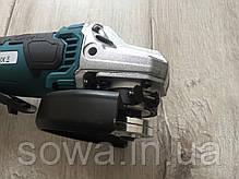 ✔️ Болгарка акумуляторна Al-Fa ALCAG125   21 + ПОДАРУНОК, фото 3