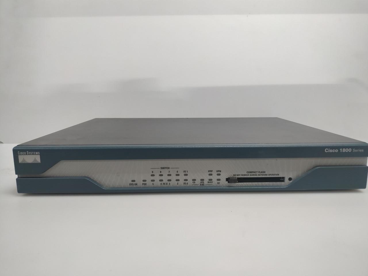 Маршрутизатор Cisco 1841 (серия 1800) без флешки
