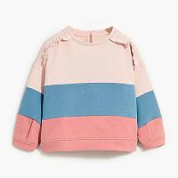 Кофта для девочки Разноцветные полосы Little Maven