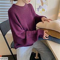 Свободный свитер в разных цветах DB-6290. Размер 42-46 универсал