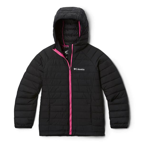 Детская (подростковая) зимняя курточка  COLUMBIA POWDER LITE  HOODED (EG0009 011)