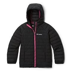 Детская (подростковая) зимняя курточка  COLUMBIA POWDER LITE  HOODED (EG0009 011) M