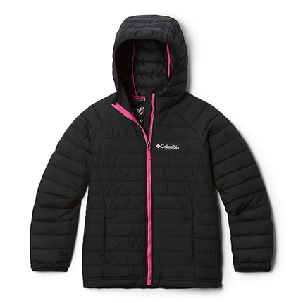 Детская (подростковая) зимняя курточка  COLUMBIA POWDER LITE  HOODED (EG0009 011), фото 2