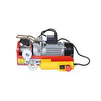 Лебідка автомобільна електрична / Тельфер электрический 880Вт 200-400кг 6/12м 220В ULTRA (6125022)