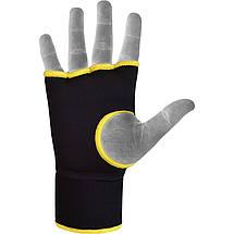 Бинт-перчатка RDX Inner Gel Black L, фото 3