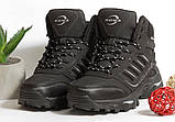 0368 Спортивные ботинки BONA из натуральной кожи, с мехом. Черные. 38 размер - стелька 24,5 см, фото 3