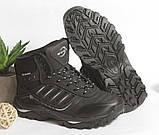 0368 Спортивные ботинки BONA из натуральной кожи, с мехом. Черные. 38 размер - стелька 24,5 см, фото 7