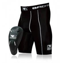 Компрессионные шорты с ракушкой Bad Boy Black S