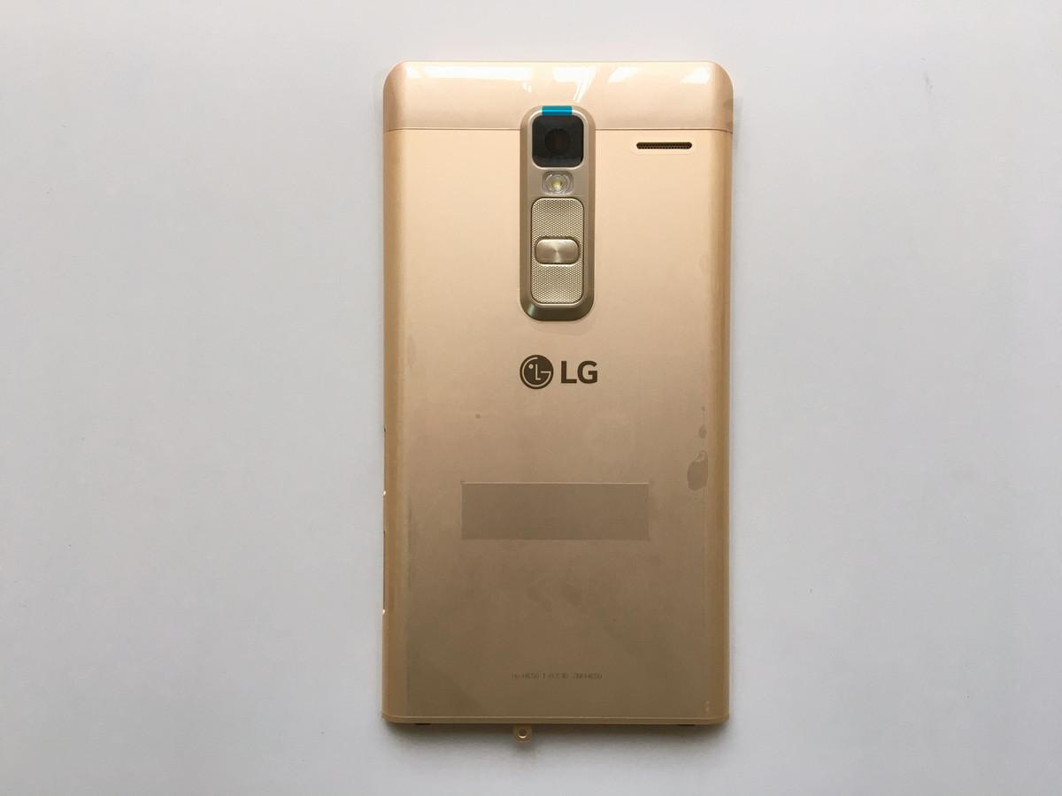 Задняя крышка LG H650E Zero, золотистая, Оригинал