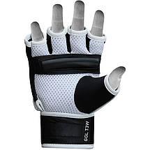 Снарядные перчатки, битки RDX Leather L, фото 2