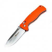 Нож складной Ganzo G720, оранжевый, фото 1